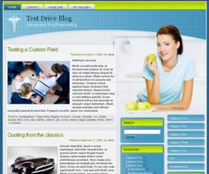 Medical Diet WordPress Theme