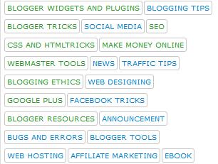 Modifikasi Tampilan Tag Cloud Pada Blogger