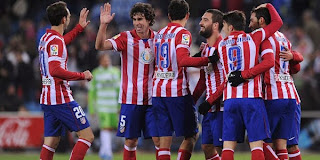Video Gol Atletico Madrid vs Getafe 24 November 2013