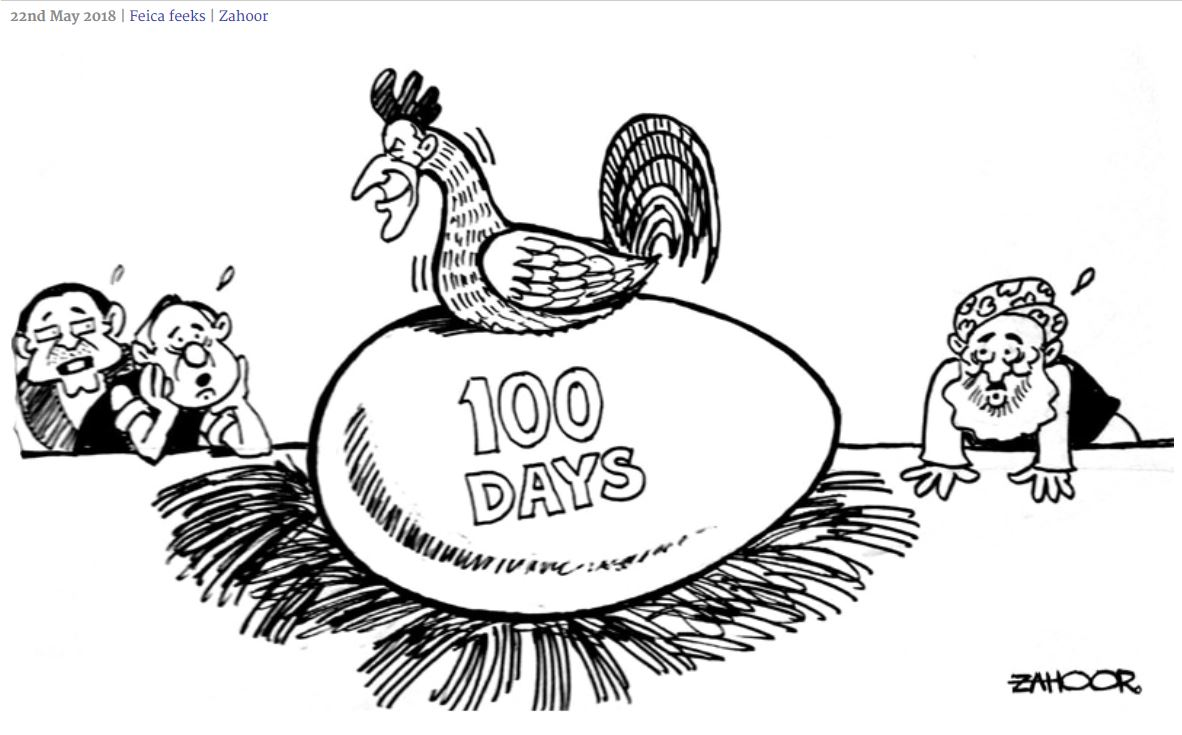 The one hundred days egg