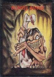 Huesos Sangrientos, una criatura propia del folclore británico para atemorizar a los niños.