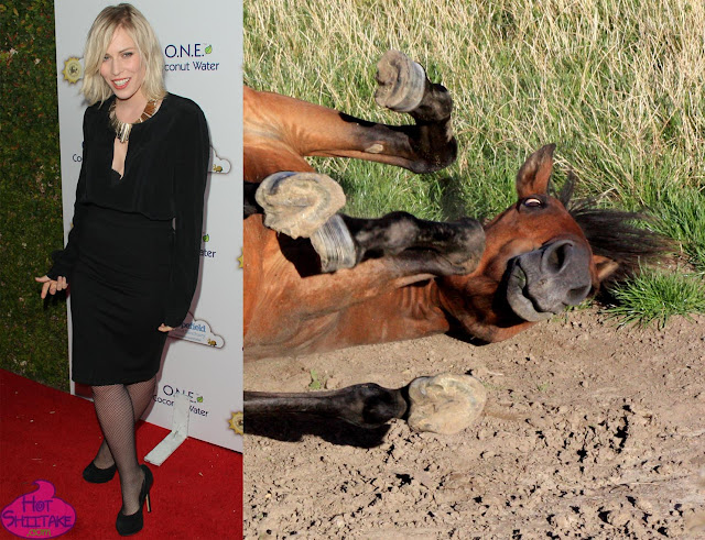 Natasha Bedingfield horse face
