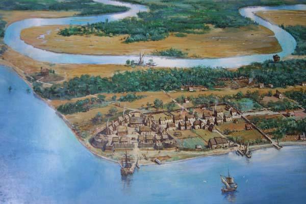 Jamestown Geography