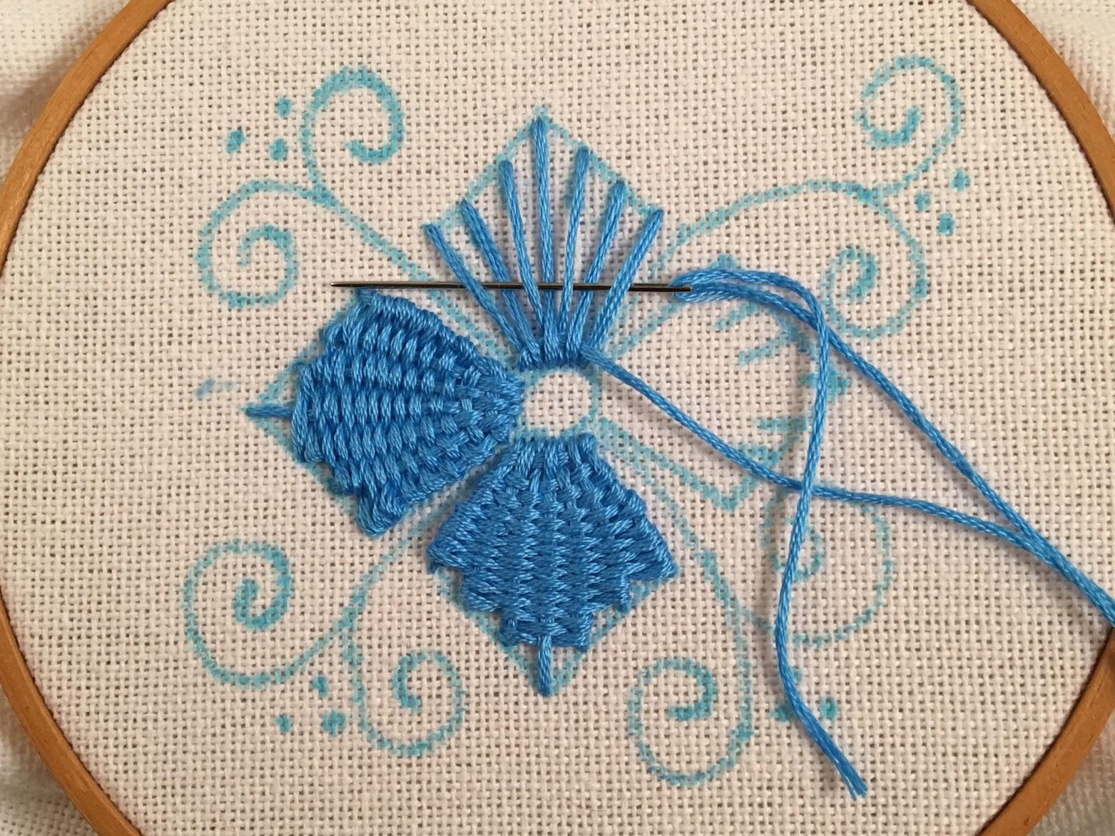 Как делать вышивки из мулине