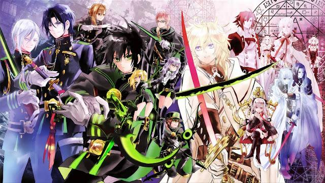 Anime Action Terbaik Owari no Seraph