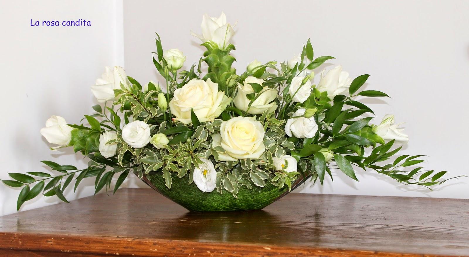 La rosa candita curcuma non solo in cucina - Centrotavola natalizi con fiori finti ...