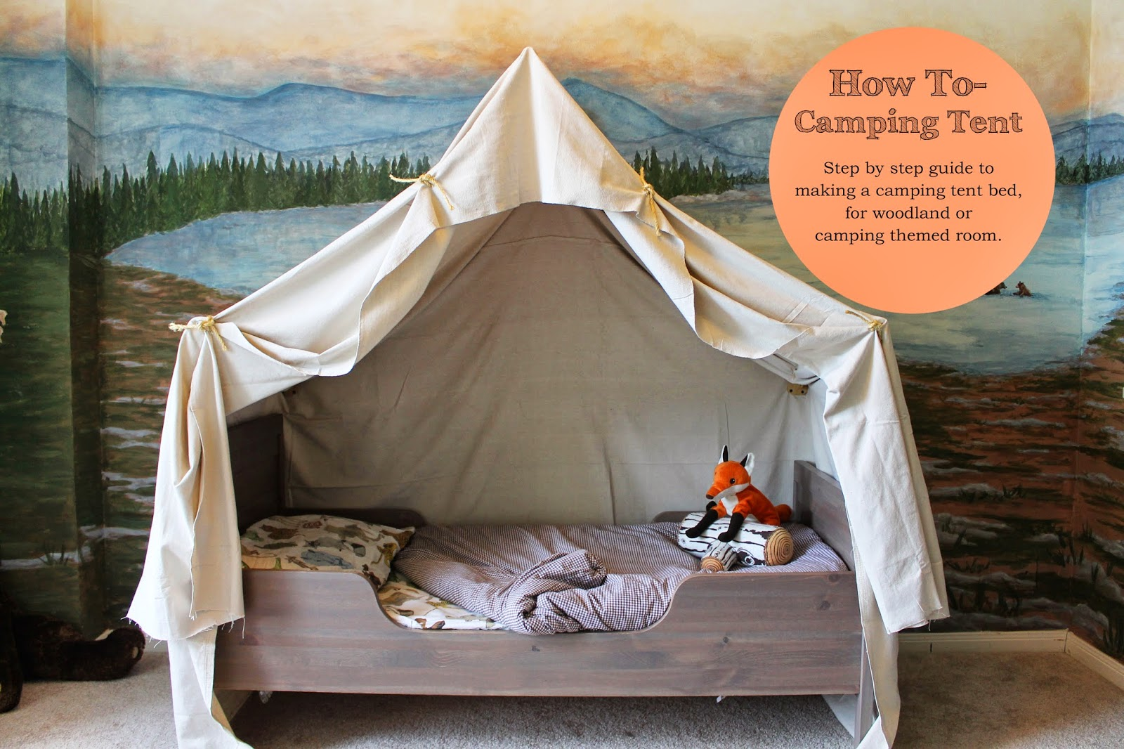 How To- C&ing Tent Bed & The ragged wren : How To- Camping Tent Bed