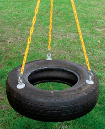 A little color every day february 2011 for Tyre swing ideas