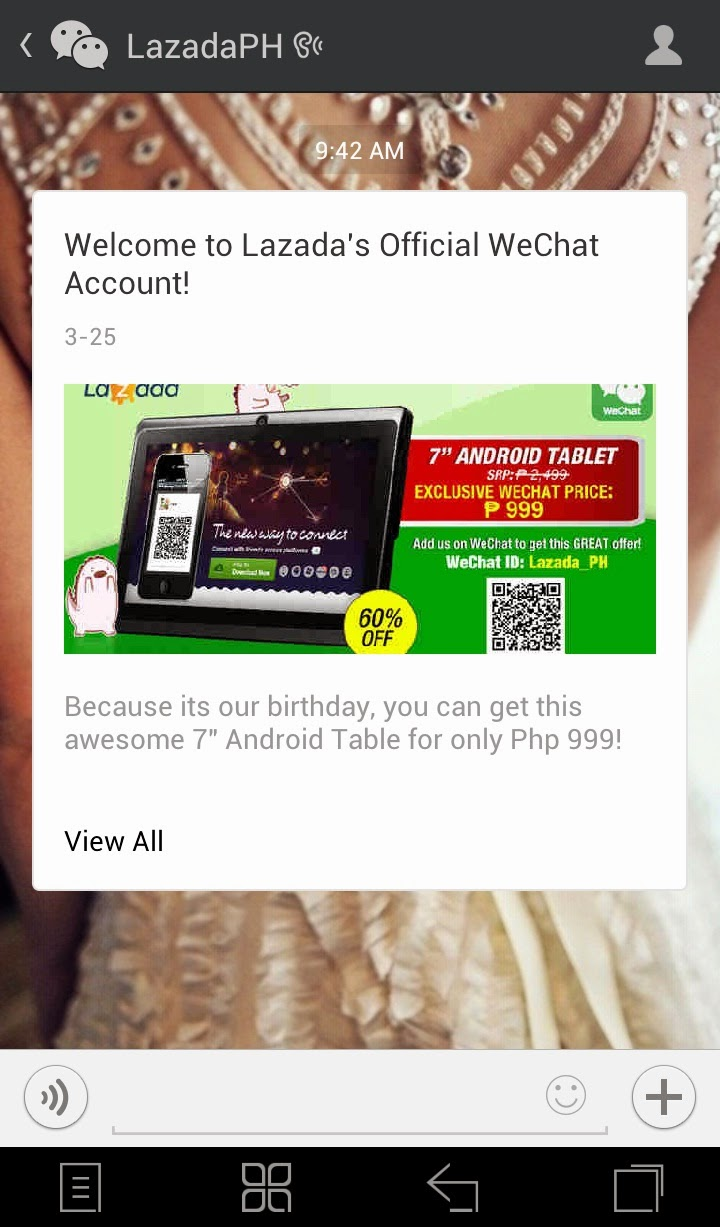 WeChat & Lazada: A New Way to Connect and Snag a Special