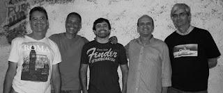 Banda Clavius se apresenta no Godofrêdo Rio ao som de muito Rock Pop