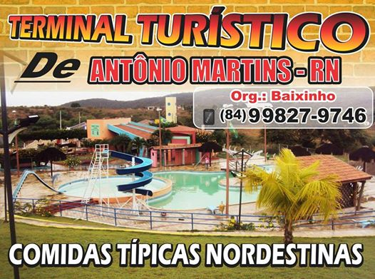 TERMINAL TURÍSTICO NA CIDADE DE ANTÔNIO MARTINS RN