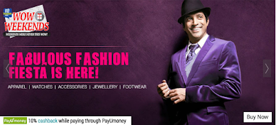 Askmebazaar Fabulous fashion sale upto 80% off & 10% cashback:Buytoearn