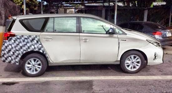 Innova 2015 Philippines 2015 Toyota Innova Spy Shots