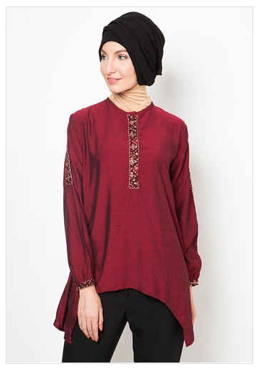 iModeli iBajui Batik iMuslimi iAtasani iWanitai 2019 Koleksi Hijab