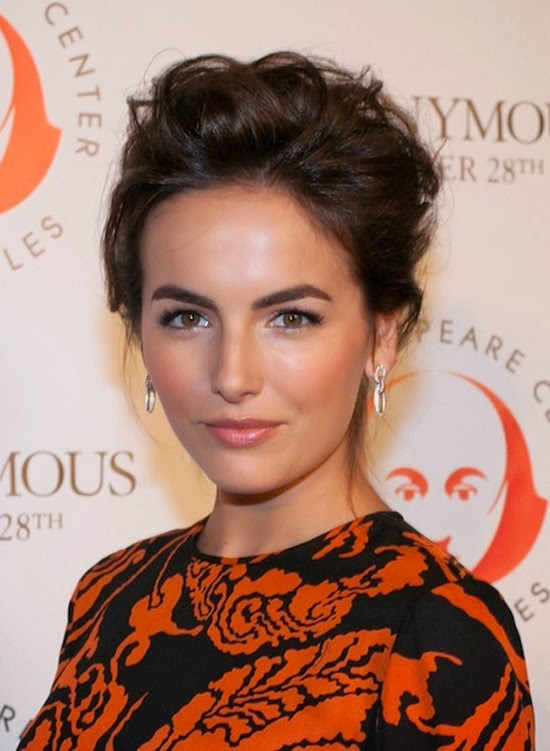 Simple Makeup - Camilla Belle || Sprinkles and Style