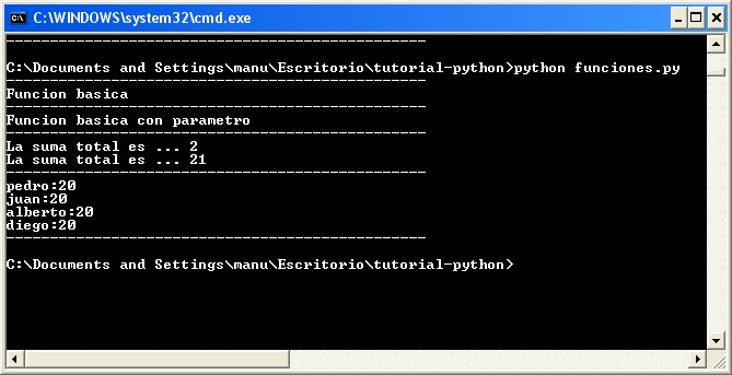 Funciones en Python
