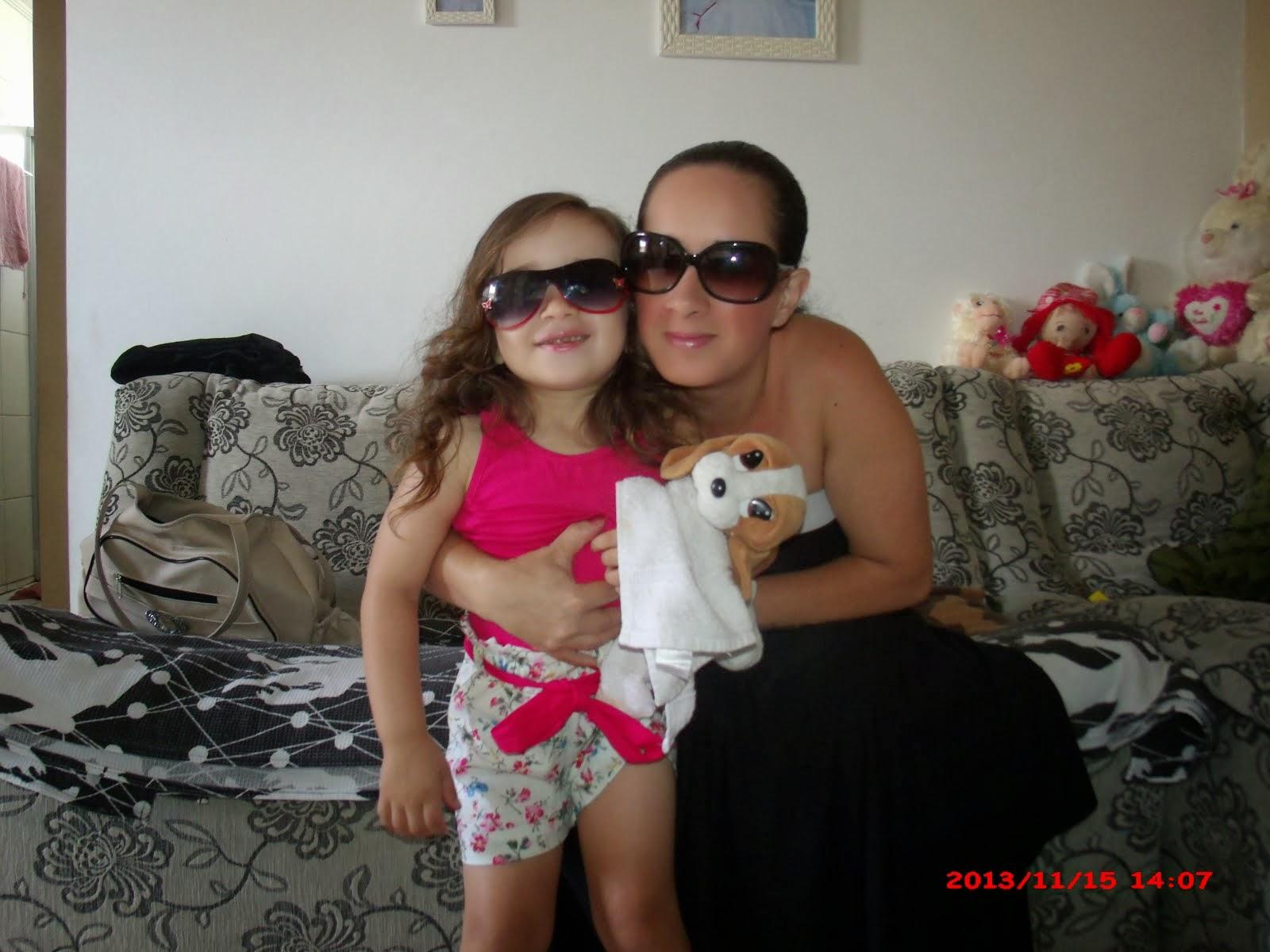 Eu e minha Princesa Kyara