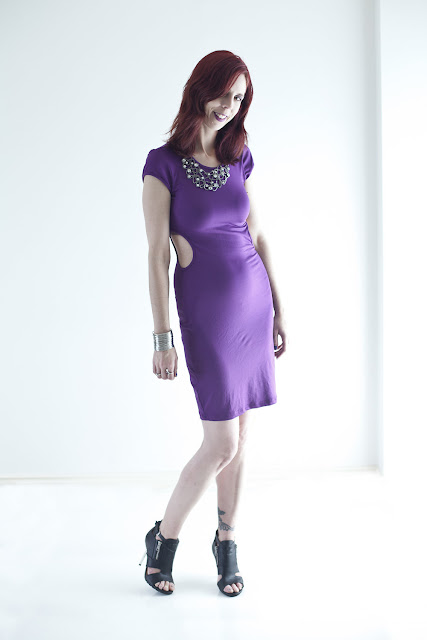 LURAP Customized Olive Colored Dress in Purple, Shop For Jayu Necklace, Forever 21 Shooties, My Style, Shopping, Fashion, Trend, Online, Review, Toronto, Ontario, Canada, The Purple Scarf, Melanie.Ps, Photographer, Ardean Peters