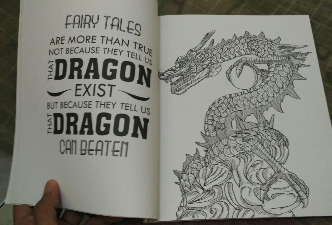 Mewarnai Naga Dragon Ball