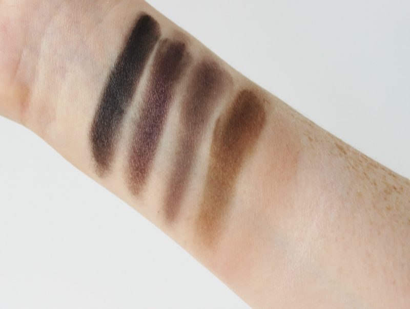 Urban Decay Naked Smoky eye shadow palette review and swatches