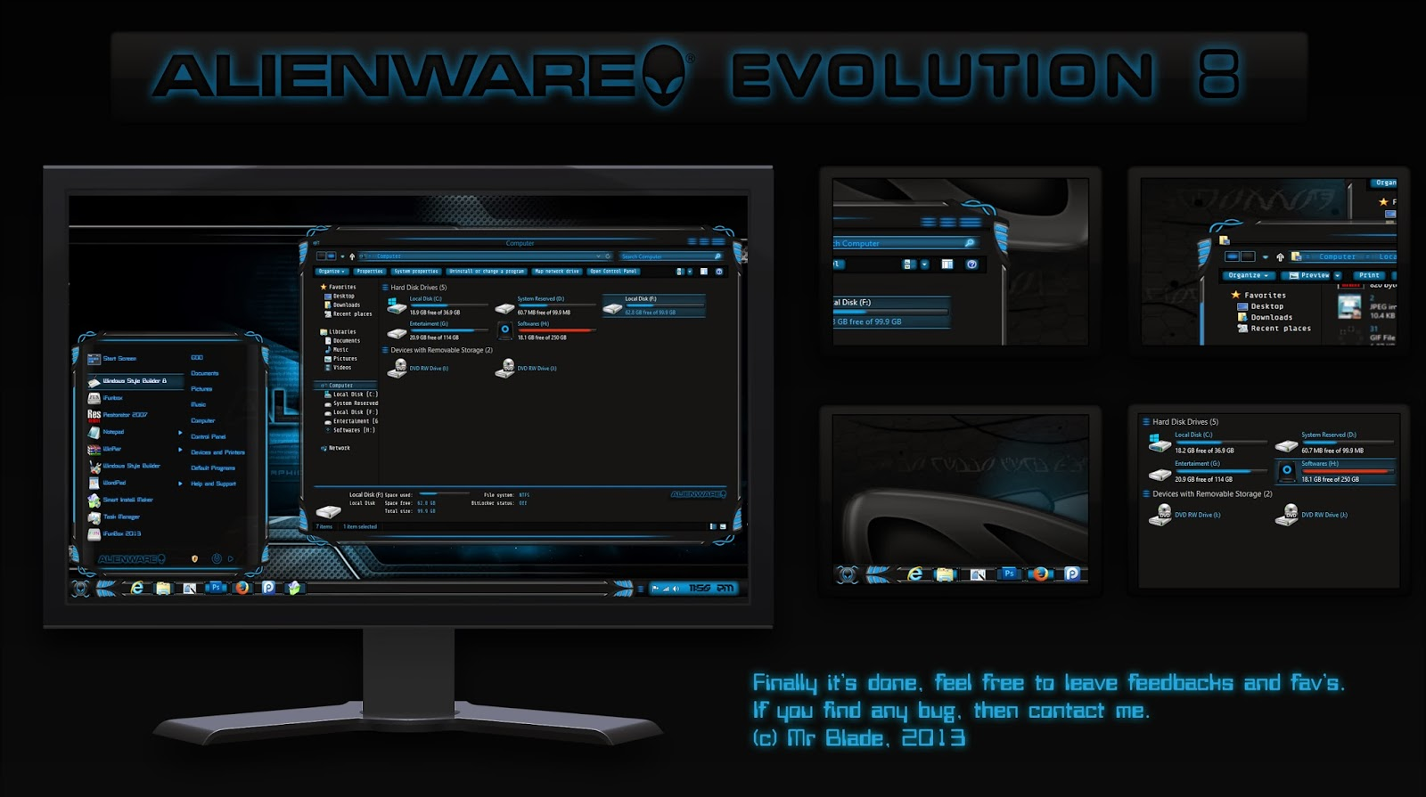 Alienware Evolution [Windows 8]