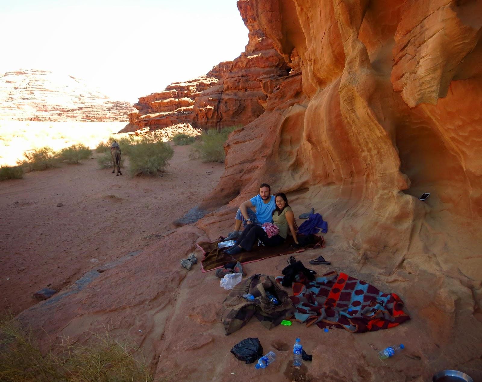 Wadi Rum, comida nómada