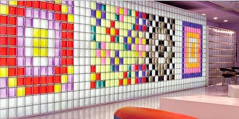 Eficiencia asequible introduccion al bloque vidrio - Decoracion con paves ...
