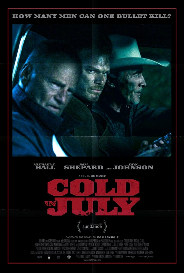 Cold in July póster