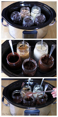 Easy Slow Cooker Melted Chocolate from The Yummy Life [featured on Slow Cooker from Scratch.com]
