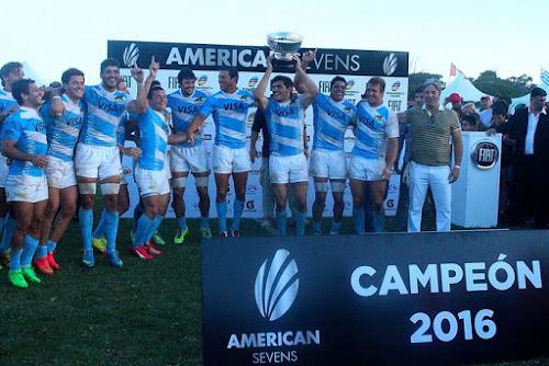 Pumas 7´s campeones en Mar del Plata