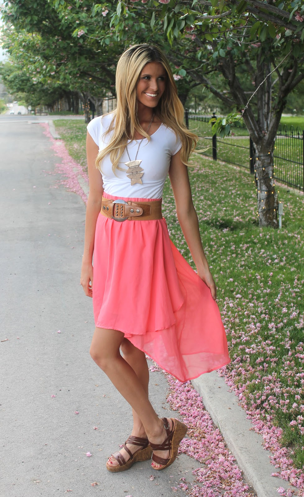 BB Styled Boutique-The Blog  High Low Skirt