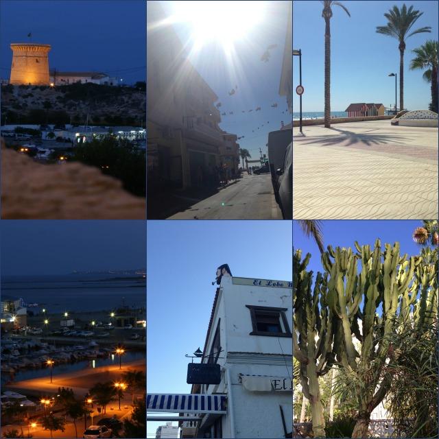 Eindrücke vom Hafen, Innenstadt und Promenade in El Campello