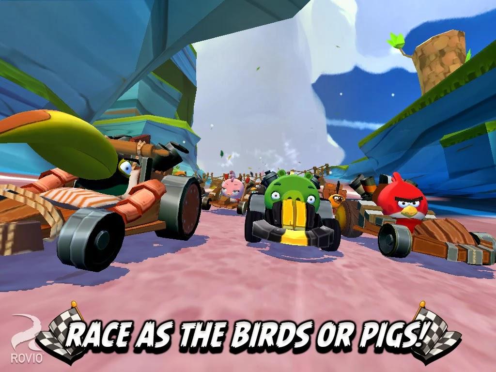 Angry Birds Go! v1.2.0 Mod [Free Shopping]