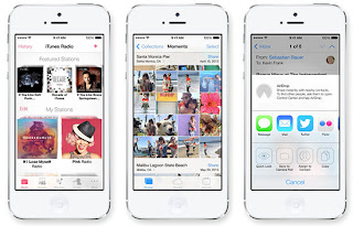 iOS 7 Design, ios 7 features