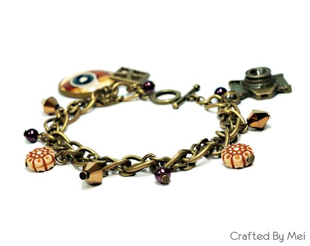 camera charm bracelet photo