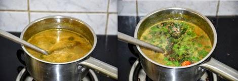 Kandathippili Rasam for cold, cough, fever