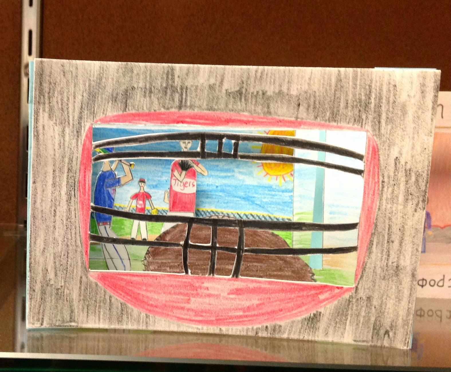 8th Grade Middle School Tunnel Book Art Lesson
