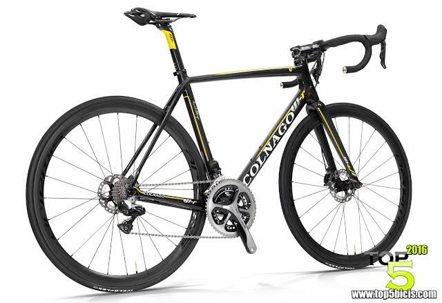 Colnago V1-R, aerodinámica, ligera y bastante rígida