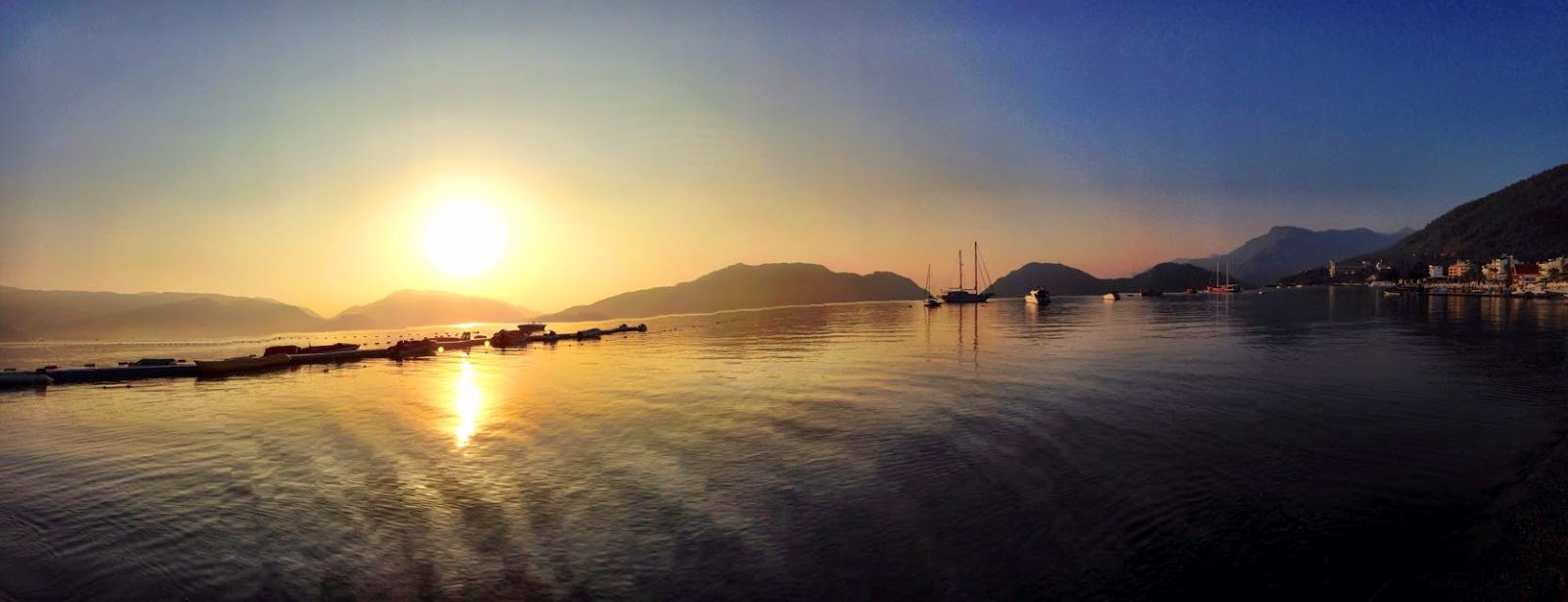 Marmaris Turkije sunrise