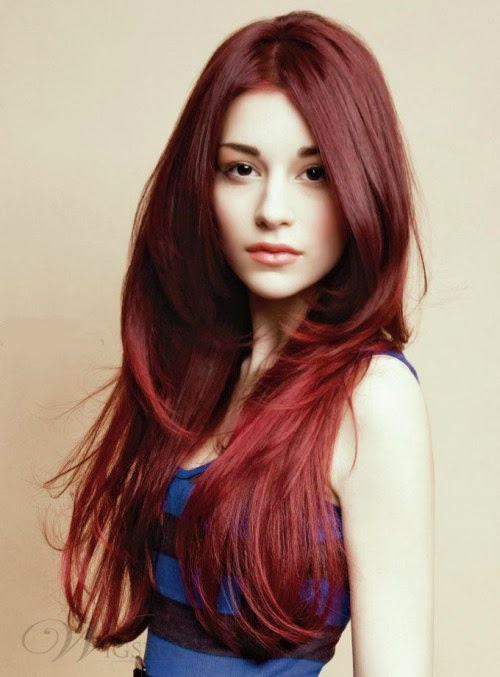 Model Rambut Layer Panjang Terbaru untuk Wanita 2