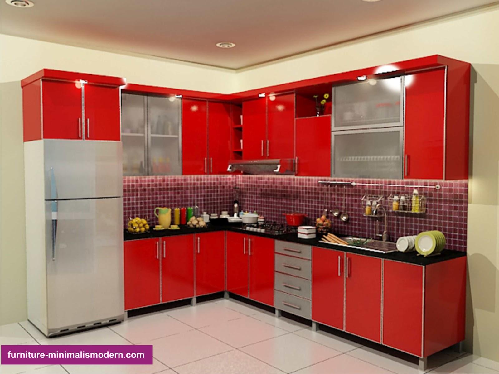 design furniture tempat dapur modern minimalis dan elegan