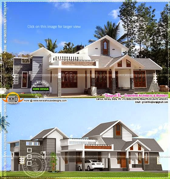 House rendering to reality