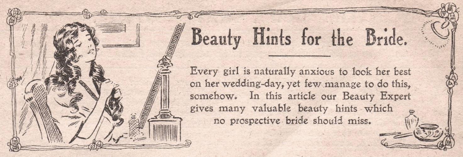 Wedding Week Bridal Beauty 1915
