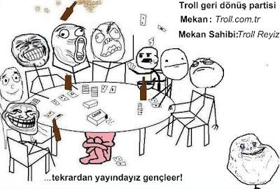 Troll Reyizin Geri Donus Partisi furthermore  on eve donus