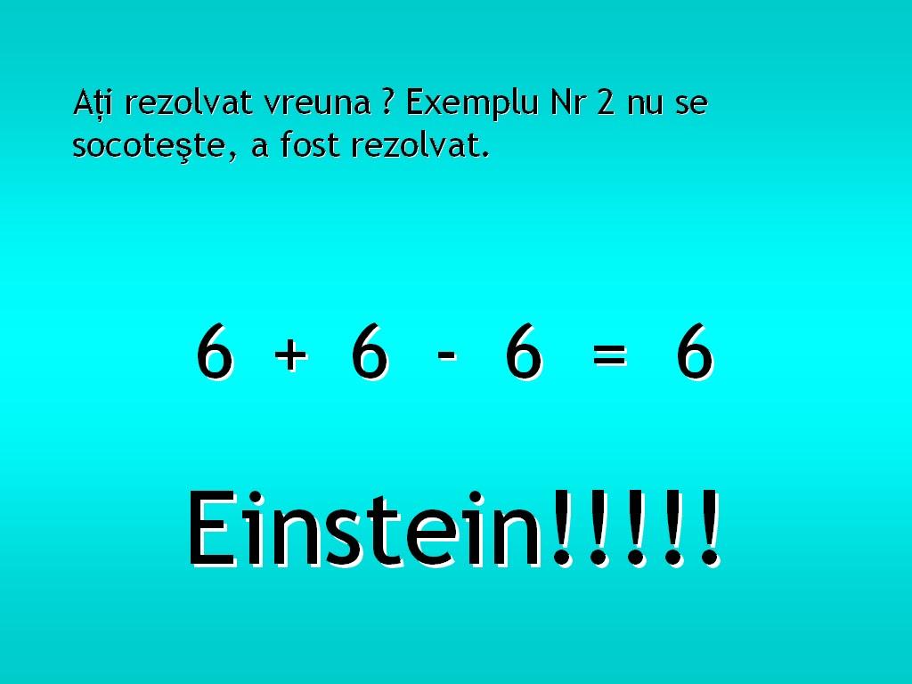 Test matematică