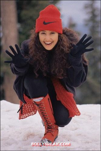 Manisha koirala in snow - (6) - Manisha Koirala photo update