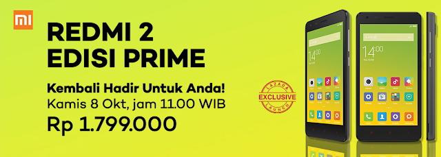 flas sale xiaomi redmi 2 prime edition 8 oktober 2015