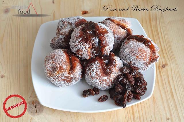 Rum and Raisin Doughnuts ~ Simple Food