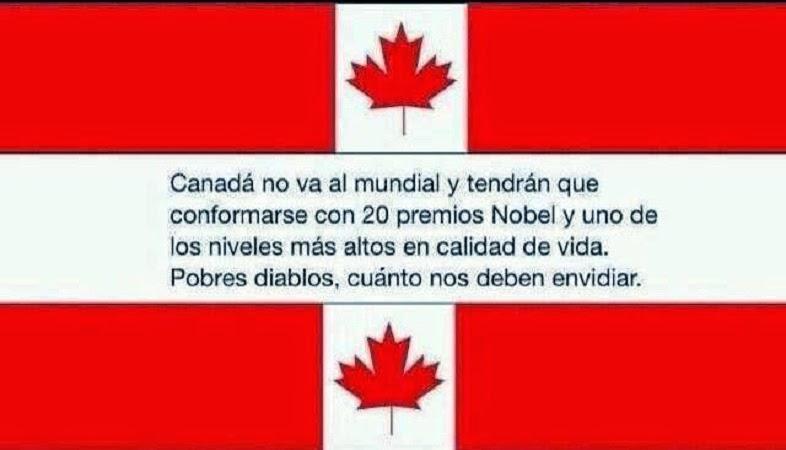 Canadá nos envidia mucho
