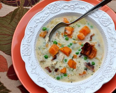 Turkey Sweet Potato Soup